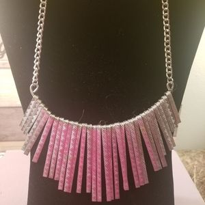 Silver Necklace Costume Jewelry